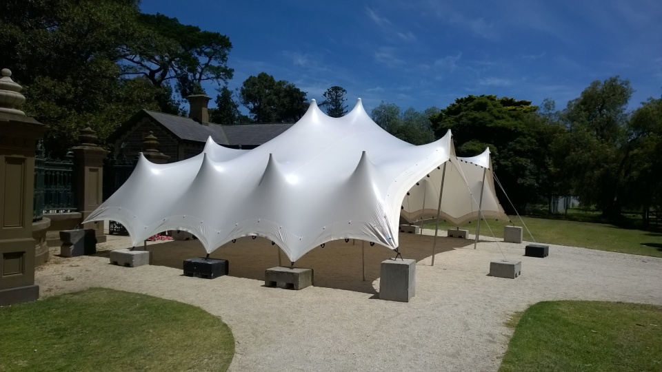 White stretch tent marquee melbourne & Photo Gallery | Temple Tents